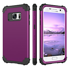 abordables Ofertas de Hoy-BENTOBEN Funda Para Samsung Galaxy S7 Antigolpes Funda de Cuerpo Entero Un Color Dura Silicona / ordenador personal para S7