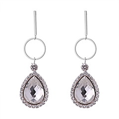 preiswerte Ohrringe-Damen Klassisch Tropfen-Ohrringe - Tropfen Luxus, Europäisch, Elegant Grau / Gelb / Blau Für Party / Abend Geburtstag