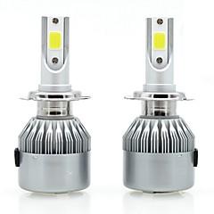 Недорогие Автомобильные фары-SENCART 2pcs 880/888 / H7 / H3 Мотоцикл / Автомобиль Лампы 36 W Интегрированный LED / COB 3800 lm 2 Светодиодная лампа / Галогенная лампа Противотуманные фары / Фары дневного света / Налобный фонарь