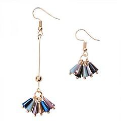 preiswerte Ohrringe-Damen Nicht übereinstimmend Tropfen-Ohrringe - Einfach, Koreanisch, Modisch Gold Für Party Alltag