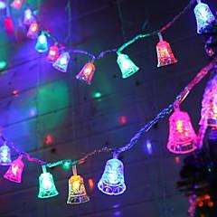 preiswerte LED Lichtstreifen-1.2 Leuchtgirlanden 10 LEDs Mehrfarbig Dekorativ / bezaubernd USB angetrieben 1 set