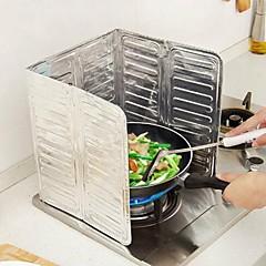 お買い得  キッチン清掃用品-キッチン クリーニング用品 ホイル 防油ステッカー クリエイティブキッチンガジェット 1個