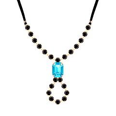 preiswerte Halsketten-Damen Tennis Kette Anhängerketten - Tropfen Einfach, Europäisch, Modisch Weiß, Grau, Blau 42 cm Modische Halsketten Schmuck 1pc Für Party, Verabredung