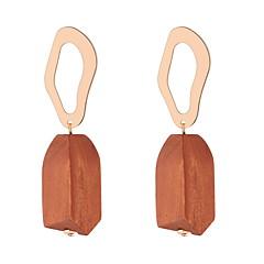preiswerte Ohrringe-Damen Vintage Stil Tropfen-Ohrringe - Einfach, Europäisch, Modisch Gelb / Braun / Blau Für Party Alltag