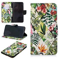 Недорогие Кейсы для iPhone-Кейс для Назначение Apple iPhone XS / iPhone XS Max Кошелек / Бумажник для карт / со стендом Чехол дерево Твердый Кожа PU для iPhone XS / iPhone XR / iPhone XS Max
