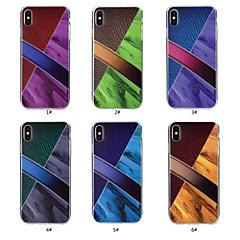 Недорогие Кейсы для iPhone 7 Plus-Кейс для Назначение Apple iPhone X / iPhone 8 С узором Кейс на заднюю панель Мрамор Мягкий ТПУ для iPhone X / iPhone 8 Pluss / iPhone 8