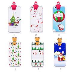お買い得  Huawei Pシリーズケース/ カバー-ケース 用途 Huawei P20 Pro / P20 lite パターン / DIY バックカバー クリスマス ソフト TPU のために Huawei P20 / Huawei P20 Pro / Huawei P20 lite