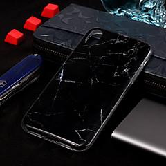 Недорогие Кейсы для iPhone 5-Кейс для Назначение Apple iPhone XS / iPhone XS Max IMD / С узором Кейс на заднюю панель Мрамор Мягкий ТПУ для iPhone XS / iPhone XR / iPhone XS Max