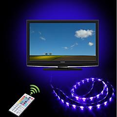abordables Tiras de Luces RGB-ZHT 2m Tiras LED Flexibles / Tiras de Luces RGB / Controles remotos 60 LED 5050 SMD Multicolor Fiesta / Conectable / Auto-Adhesivas Alimentado por USB 1 juego