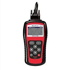 abordables Herramientas y Equipamiento para Coche-Autel MS509 detector de vehículos maxiscan conducción OBD II equipo falla obd2 instrumento de diagnóstico