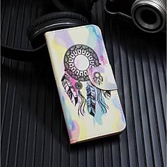 Недорогие Кейсы для iPhone 7 Plus-Кейс для Назначение Apple iPhone XR / iPhone XS Max Кошелек / Бумажник для карт / со стендом Чехол Ловец снов Твердый Кожа PU для iPhone XS / iPhone XR / iPhone XS Max