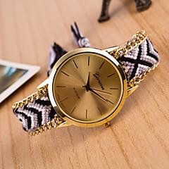 preiswerte Damenuhren-Damen Armbanduhr Quartz Wickeln Weiß / Orange / Gold Armbanduhren für den Alltag lieblich Analog damas Retro Böhmische - Rosa Dunkelrot Leicht Grün