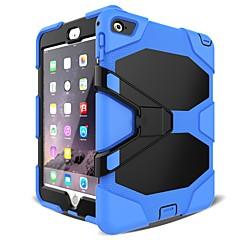hesapli -Cooho Pouzdro Uyumluluk Apple iPad mini 4 / iPad Mini 3/2/1 Şoka Dayanıklı / Toz Geçirmez / Su Resisdansı Tam Kaplama Kılıf Kamuflaj Rengi / Zırh Sert PC / Silika Jel için iPad Mini 3/2/1 / iPad Mini
