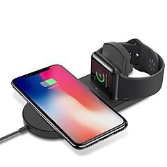 abordables Gadgets para Samsung-Cwxuan Cargador Wireless Cargador usb USB con el cable / QC 3.0 / Cargador Wireless 1 A DC 9V / DC 5V para Apple Watch Series 4/3/2/1 / Apple Watch Serie 3 / Apple Watch Series 2 iPhone X / iPhone 8