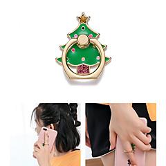 abordables Soportes y Montajes para Teléfono-Escritorio Soporte para soporte de montaje Christmas Santa Claus Phone Holder Ajustable / Rotación de 360 ° Metal Titular