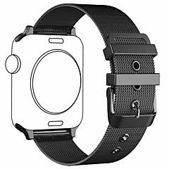 preiswerte Herrenuhren-Edelstahl Uhrenarmband Gurt für Apple Watch Series 4/3/2/1 Schwarz / Silber / Rot 23cm / 9 Zoll 2.1cm / 0.83 Inch
