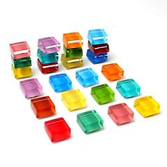 お買い得  Arduino 用アクセサリー-かわいい冷蔵庫マグネットキッチンカラフルなマグネット装飾的なオフィスマグネット楽しいガラスマグネットホワイトボードドライイーズボードマグネット