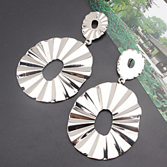 preiswerte Ohrringe-Damen Geometrisch Tropfen-Ohrringe - Einfach, Europäisch, Modisch Gold / Silber Für Party Normal