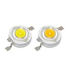 abordables Accesorios LED-SENCART 10pcs LED de alta potencia Manualidades / Accesorio de la bombilla Aluminio Chip LED Claro para DIY Proyector de luz de inundación LED 1 W