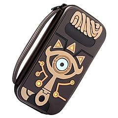 abordables Accesorios para Nintendo Switch-Zelda Slate Pack Kits de bolsas Para Interruptor de Nintendo ,  Portátil / Nuevo diseño / Adorable Kits de bolsas Cuero de PU 1 pcs unidad