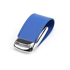 お買い得  USBメモリー-64GB USBフラッシュドライブ USBディスク USB 2.0 レザーレット / メタル 不規則型 ワイヤレスストレージ