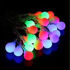 preiswerte LED Lichtstreifen-BRELONG® 4m Leuchtgirlanden 28 LEDs RGB Wasserfest / Kreativ / Party 220-240 V 1pc