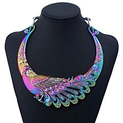 preiswerte Halsketten-Damen Klassisch Torques - Pfau Hyperbel Regenbogen 45 cm Modische Halsketten Schmuck 1pc Für Karnival