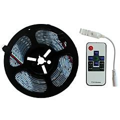 preiswerte LED Lichtstreifen-SENCART 5m Lichtsets 300/150 LEDs SMD5050 1 Fernbedienung mit 10 Tasten RGB Schneidbar / Dekorativ / Verbindbar 12 V 1 set