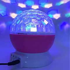 abordables LED e Iluminación-brelong romántico escenario giratorio universo estrella proyector 1 pc