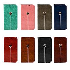Недорогие Кейсы для iPhone-Кейс для Назначение Apple iPhone XR / iPhone XS Max Кошелек / Бумажник для карт / со стендом Чехол Однотонный Твердый Кожа PU для iPhone XS / iPhone XR / iPhone XS Max