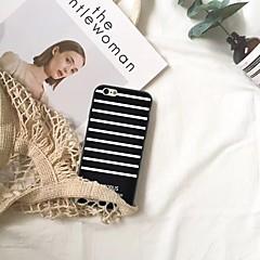 Недорогие Кейсы для iPhone 6 Plus-Кейс для Назначение Apple iPhone XR / iPhone XS Max С узором Кейс на заднюю панель Полосы / волосы Мягкий ТПУ для iPhone XS / iPhone XR / iPhone XS Max