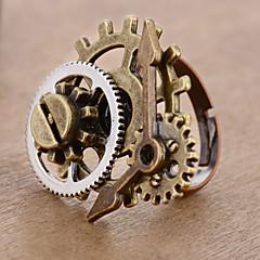 preiswerte Ringe-Damen Retro Öffne den Ring Einstellbarer Ring - Ausrüstung Retro, Punk, Steampunk Verstellbar Bronze Für Maskerade Professionell