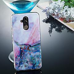 Недорогие Чехлы и кейсы для Huawei Mate-Кейс для Назначение Huawei Huawei Mate 20 Lite / Huawei Mate 20 Pro IMD / С узором Кейс на заднюю панель Мрамор Мягкий ТПУ для Huawei Honor 10 / Huawei Honor 9 Lite / Huawei Honor 8X