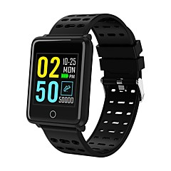 abordables Tech & Gadgets-Indear F3 Pulsera inteligente Android iOS Bluetooth Smart Deportes Impermeable Monitor de Pulso Cardiaco Pantalla Táctil Podómetro Recordatorio de Llamadas Seguimiento de Actividad Seguimiento del