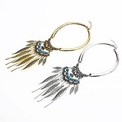 abordables Collares-Mujer Turquesa Retro Collares con colgantes - Vintage Dorado, Plata 38 cm Gargantillas Joyas 1pc Para Diario