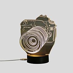 preiswerte USB Lampen-1 set 3D Nachtlicht USB Dekorativ