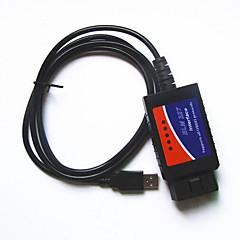 Недорогие OBD-линии автоматической диагностики неисправностей приборов ELM327 obd2 вождения компьютер USB-кабель
