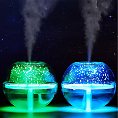 preiswerte Ausgefallene LED-Beleuchtung-BRELONG® 1pc LED-Nachtlicht RGB USB Einfach zu tragen / Farbverläufe / Befeuchtet 5 V
