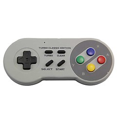 お買い得  ビデオゲーム用アクセサリー-ワイヤレス ゲームコントローラ / ゲームコントローラキット / ゲームコントローラアクセサリキット 用途 PC / Wii 、 Bluetooth クール ゲームコントローラ / ゲームコントローラキット / ゲームコントローラアクセサリキット ABS 1 pcs 単位