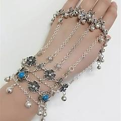 preiswerte Armbänder-Damen Klassisch Ring-Armbänder - Böhmische, Ethnisch Armbänder Silber Für Bikini