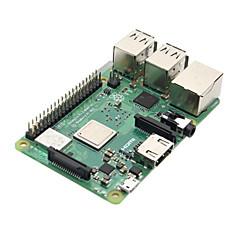 abordables Kits de Bricolaje-Placa base de la placa madre de la frambuesa pi 3 modelo b + (más) con bcm2837b0 cortex-a53 (armv8) 1.4 gHz cpu LAN inalámbrica de doble banda con 1 gb de ram