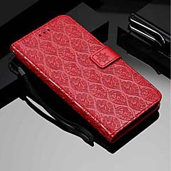 Недорогие Чехлы и кейсы для Sony-Кейс для Назначение Sony Xperia XA2 / Xperia XA3 Кошелек / Бумажник для карт / со стендом Чехол Цветы Твердый Кожа PU для Xperia XZ2 / Sony Xperia XZ3 / Xperia XA3