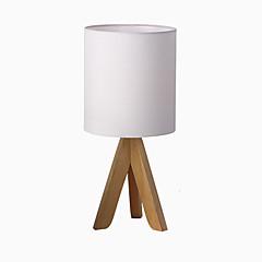 abordables Lámpara de Mesa-Contemporáneo moderno Encantador Lámpara de Mesa / Lámpara de Escritorio Para Dormitorio / Interior Metal 110-120V / 220-240V Blanco / Negro / Amarillo
