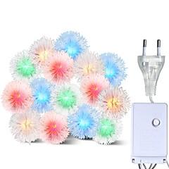 abordables LED e Iluminación-BRELONG® 10m Cuerdas de Luces 100 LED RGB Impermeable / Creativo / Fiesta 220-240 V