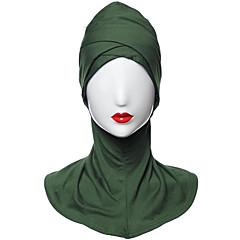 Недорогие Женские украшения-Жен. Классический Хиджаб - Перекрещивание Однотонный