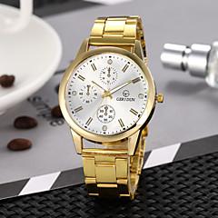 abordables Relojes de Mujer-Mujer Reloj de Vestir Reloj de Pulsera Cuarzo Reloj Casual Aleación Banda Analógico Vintage Moda Dorado - Dorado Blanco Negro