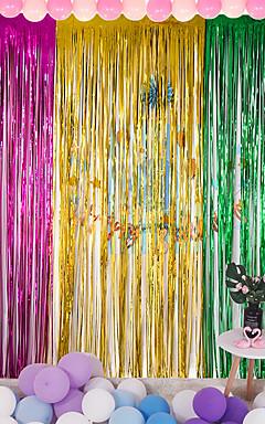 رخيصةأون -زخارف عطلة السنة الجديدة الأجسام الزخرفية 1pc الأرجواني / الأحمر / الفضة