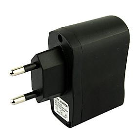 Χαμηλού Κόστους Αξεσουάρ Η/Υ & Tablet-eu βύσμα usb ac dc τροφοδοτικό τοίχου φορτιστής mp3 mp4 dv φορτιστή (μαύρο)
