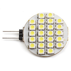 abordables Luces LED de Doble Pin-2 W Focos LED 6000 lm G4 24 Cuentas LED SMD 3528 Blanco Natural 12 V