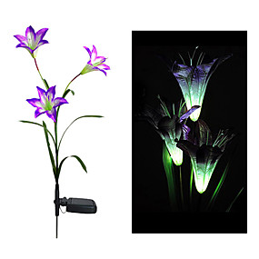 billige Pathway Lights-1pc Soldrevet Dekorativ Belysning